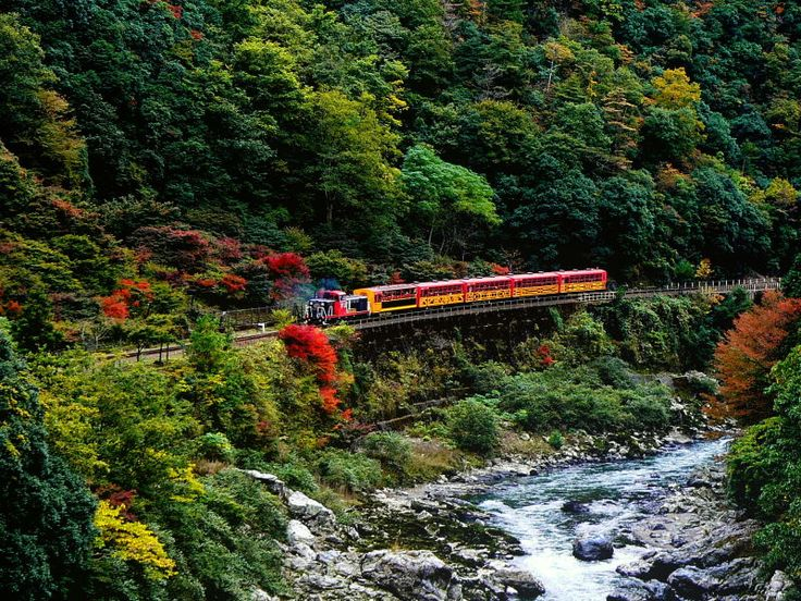 sagano-train